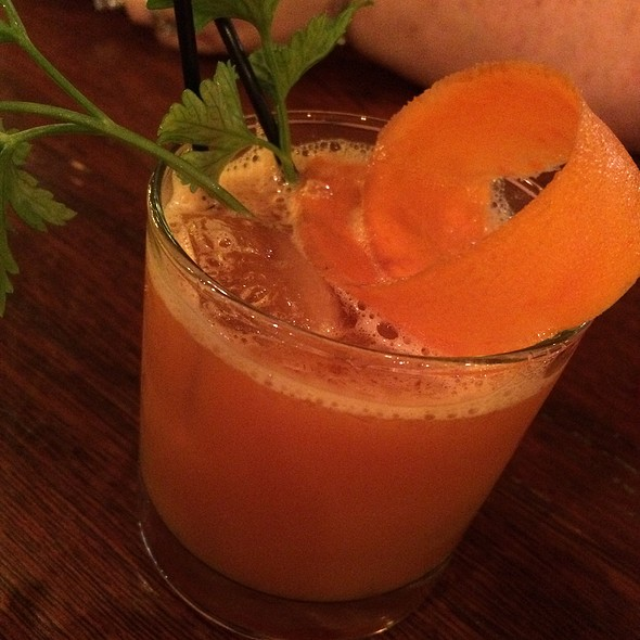 Root Of All Evil Cocktail
