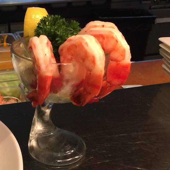 Jumbo shrimp cocktail @ Madison's New York Grill & Bar