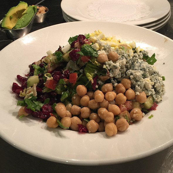Madisons Chopped Salad @ Madison's New York Grill & Bar