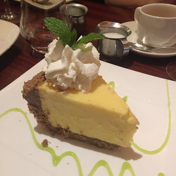 Key Lime Pie @ Madison's New York Grill & Bar