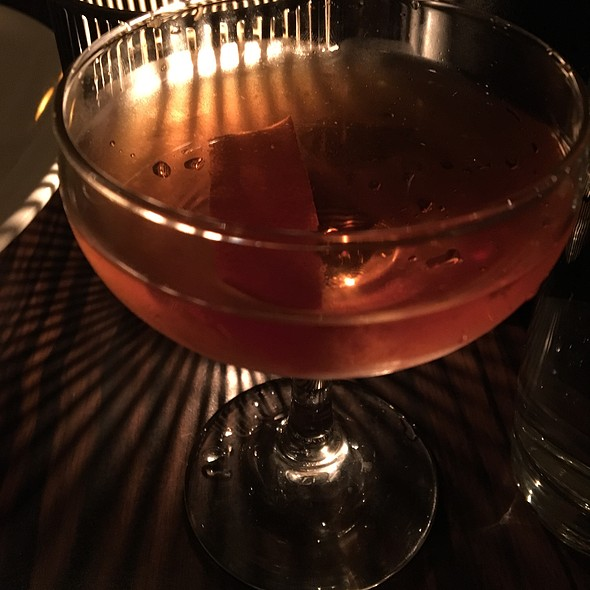 Mulberry Bend - Bourbon, Amaro, Marsala Wine & Black Walnut Bitters