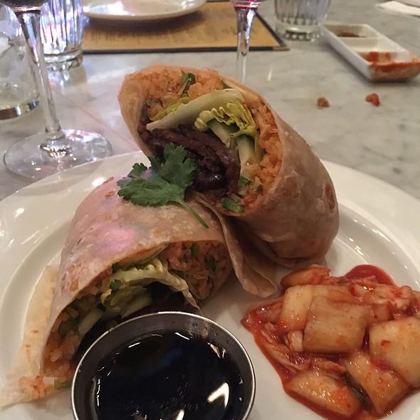Seoul Food Burrito