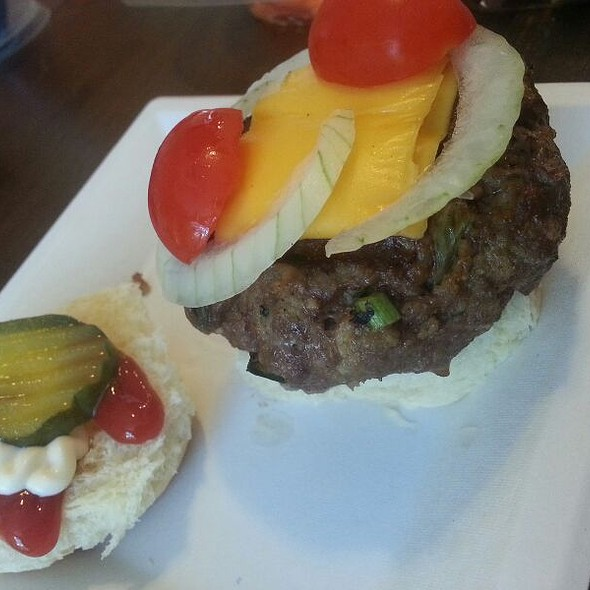 Handmade Grilled Burger Sliders