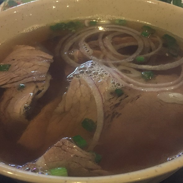 Beef Pho @ Taste of Asia