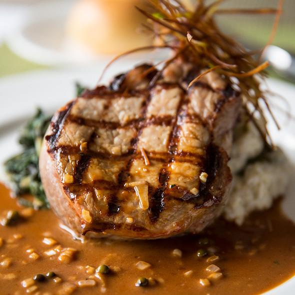 Bone-In Pork Rib Chop @ Glenmorgan Bar & Grill