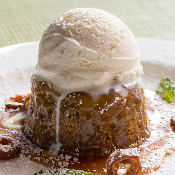 Sticky Toffee Pudding @ Glenmorgan Bar & Grill