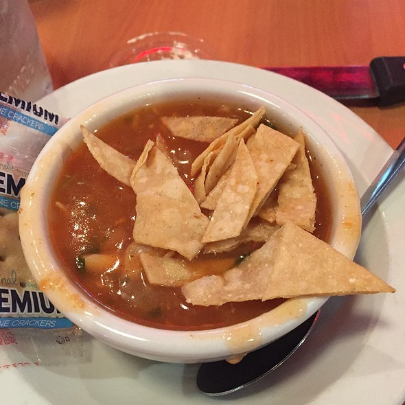 Chicken Tortilla Soup @ Texas Corral