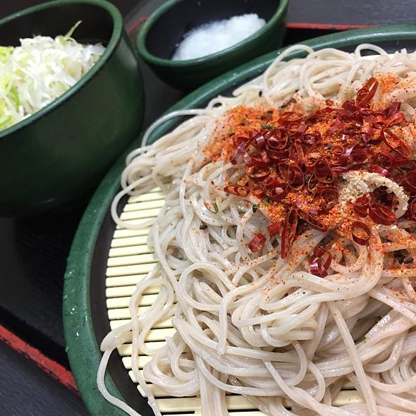 つけ 牡蠣と蓮根のかきあげせいろ @ ゆで太郎 西五反田5丁目店