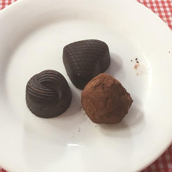 Chocolates @ Nine Cafe