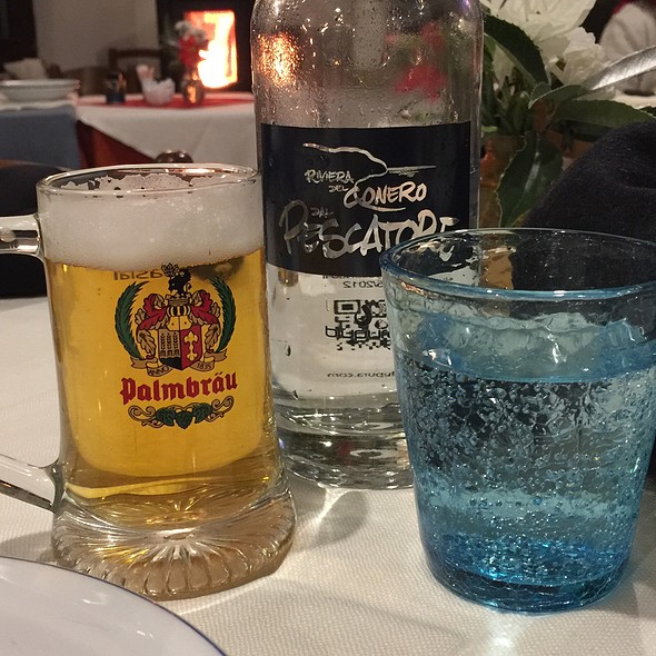 Beer And Water @ Dal Pescatore