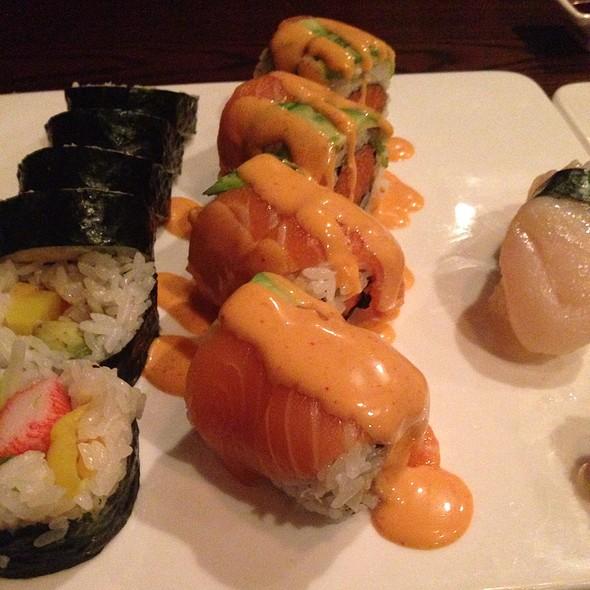 Assorted Sushi @ Nikko Asian Bistro & Sushi Bar