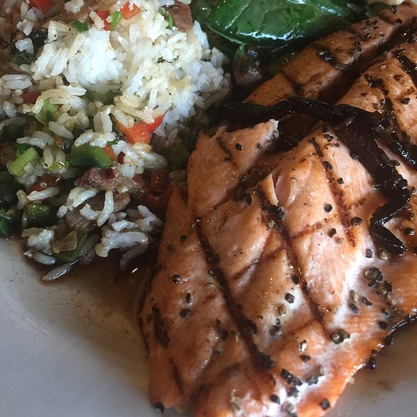 Grilled Ruby Red Trout