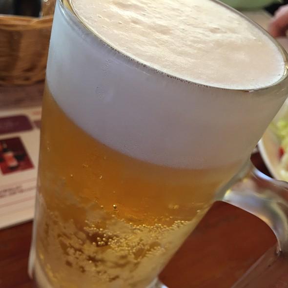 生ビール 中ジョッキ @ オールドヒッコリー 大和桜ヶ丘店