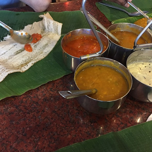 Dosa With Ghee @ The Lotus Family Restaurant