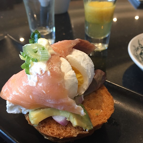 Poached Egg and Smoked Salmon Sandwich @ Latest Recipe @ Le Meridien