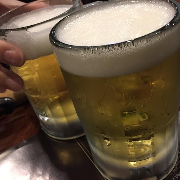 Cass Draft Beer @ 아웃백스테이크 양재점