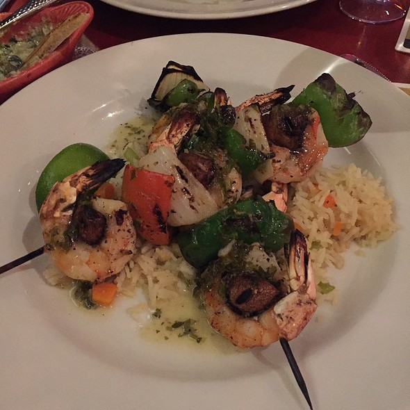 Jumbo Grilled Shrimp @ Zinc Bistro & Wine Bar