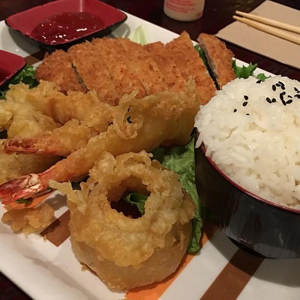 Kids Tonkatsu & Shrimp Tempura
