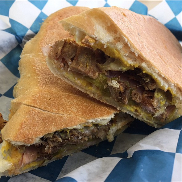 Cuban Sandwich @ Ocean State Sandwiches