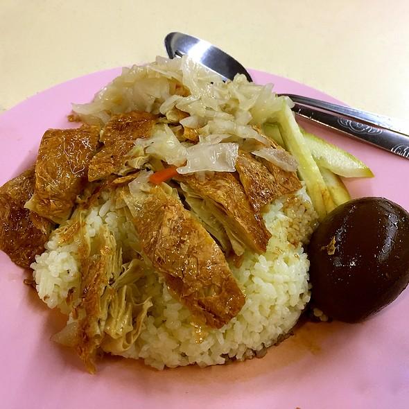 Chicken Rice @ Ci Wen Vegetarian