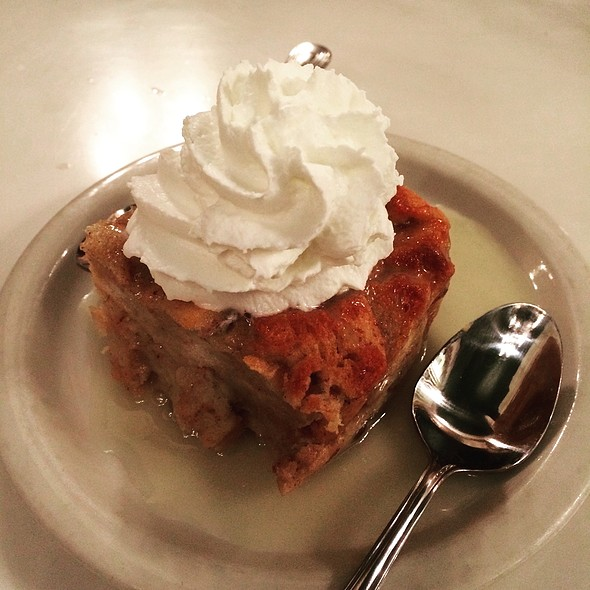 Bread Pudding With Whiskey Sauce @ Murphy's Bar & Grill