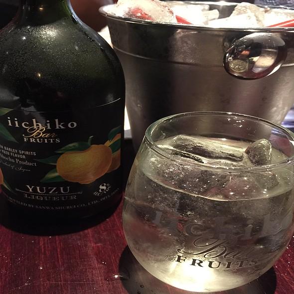 Iichiko Bar Fruits Yuzu