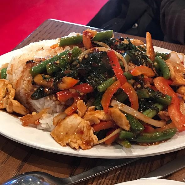 Thai Basil Chicken @ Pei Wei Asian Diner