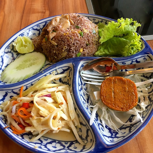 Olive Fried Rice With Fish Cake @ Thonglor Thai Cuisine @ Ang Mo Kio Central