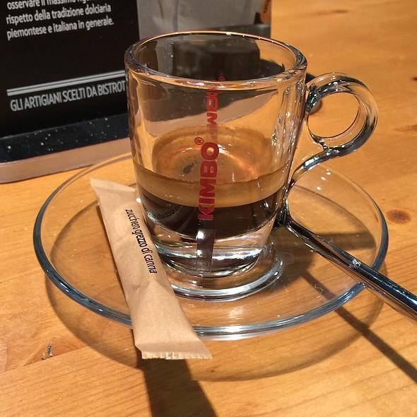 Espresso @ Bistrot Fiumicino