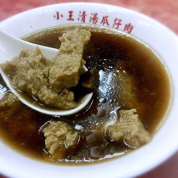 瓜仔肉湯 。 @ 小王清湯瓜仔肉