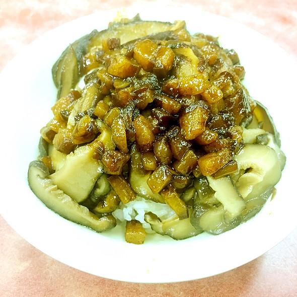 香菇肉燥飯 @ 小王清湯瓜仔肉
