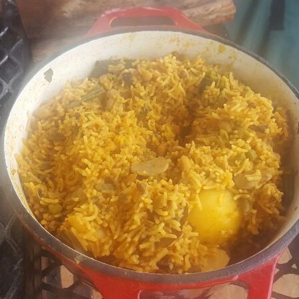 Vegetable Biryani @ Ash's Kitchen