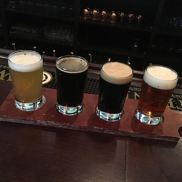 Beer Flight @ The Brass Tap