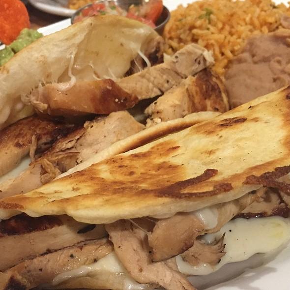 Chicken Quesadilla @ EL MIRASOL ALTA COCINA MEXICANA
