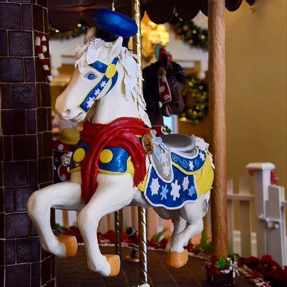 White Chocolate Horse @ Disney's Beach Club Resort
