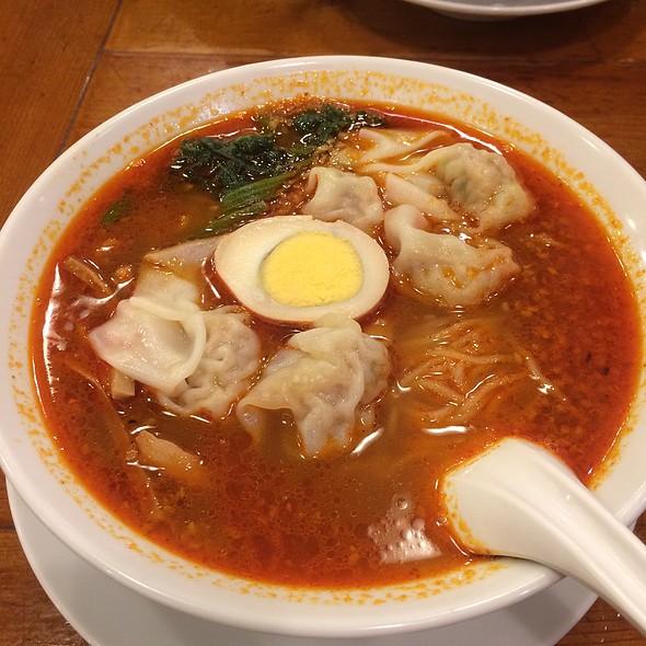 Spicy Wanton Noodle @ 広州市場