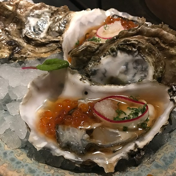 Kaki   Oysters @ El Cercle Restaurant
