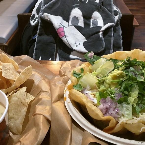 Loaded Tortilla Soup @ Qdoba Mexican Eats