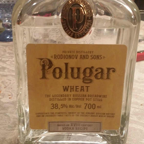 Vodka Polugar @ Casa Molteni