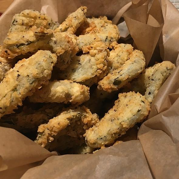 Fried Pickles @ Twin Peaks