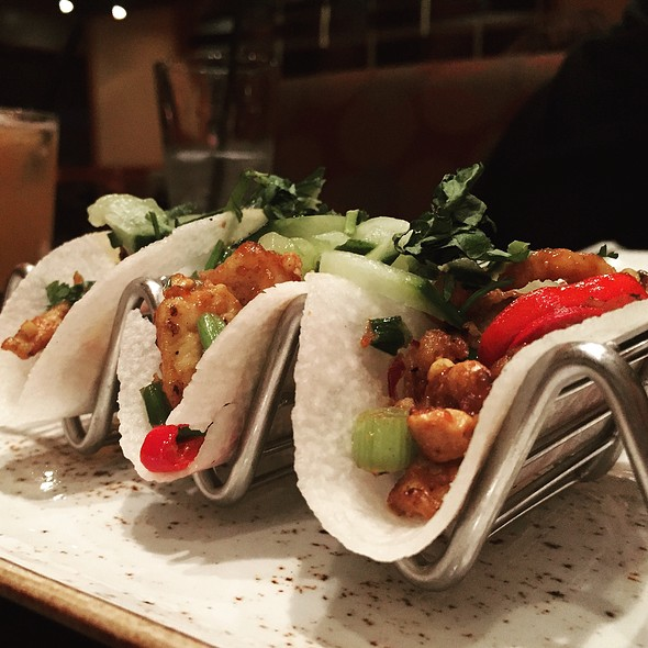 Korean Chicken Taco