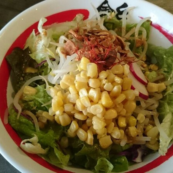 Goma Salad Kale Ramen