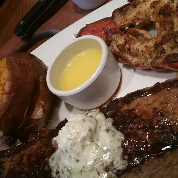 Lobster , Steak And Sweet potato @ Outback Steakhouse - Canton