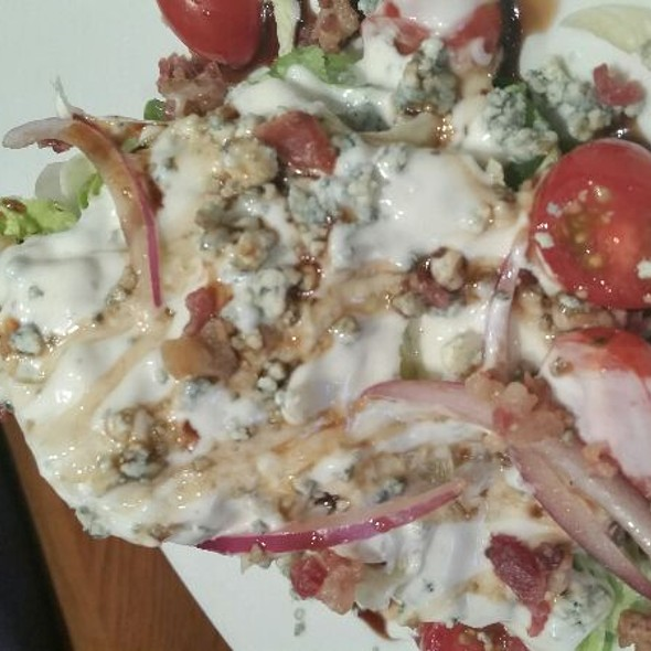 Wedge Salad w/ Blue Cheese @ Outback Steakhouse - Canton