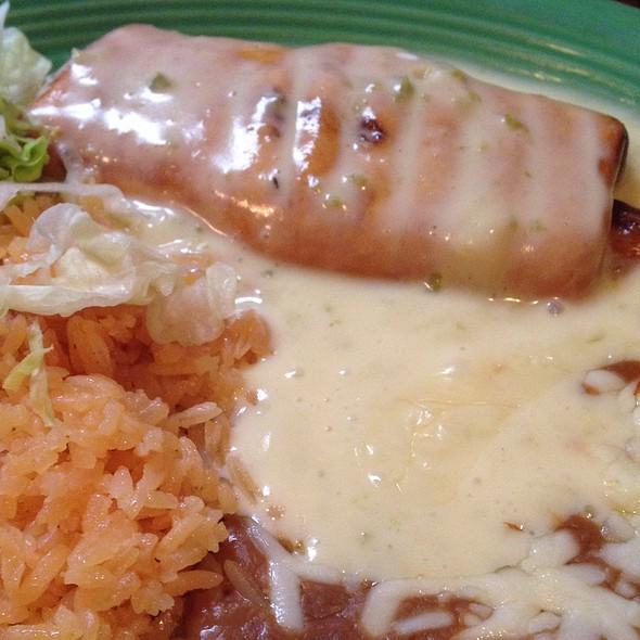 Chicken Chimichanga @ Rancho Cantina