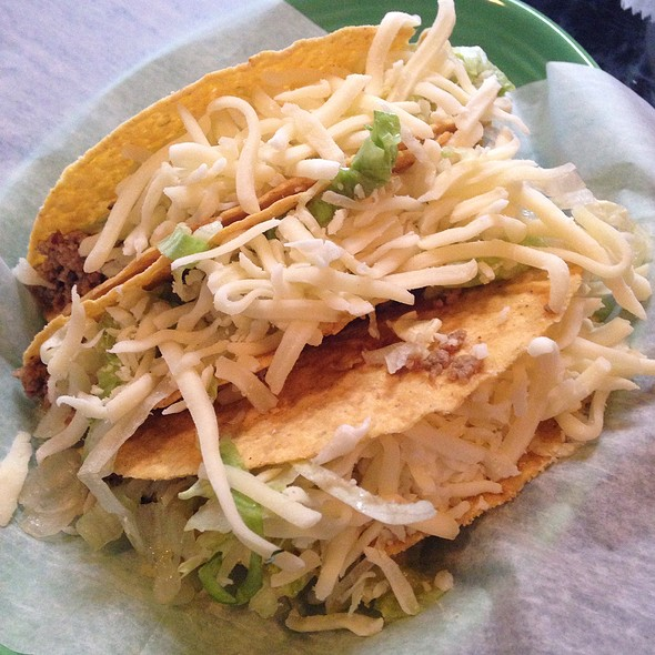 Crispy Beef Tacos @ Rancho Cantina