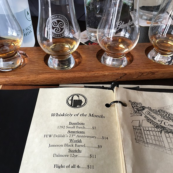 Whisky Of The Month Flight @ Fountainhead