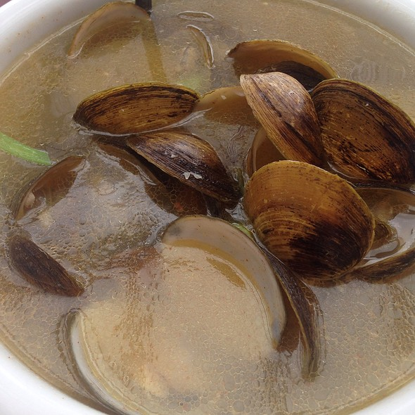 Clams In Broth @ Obama Grill and Bar