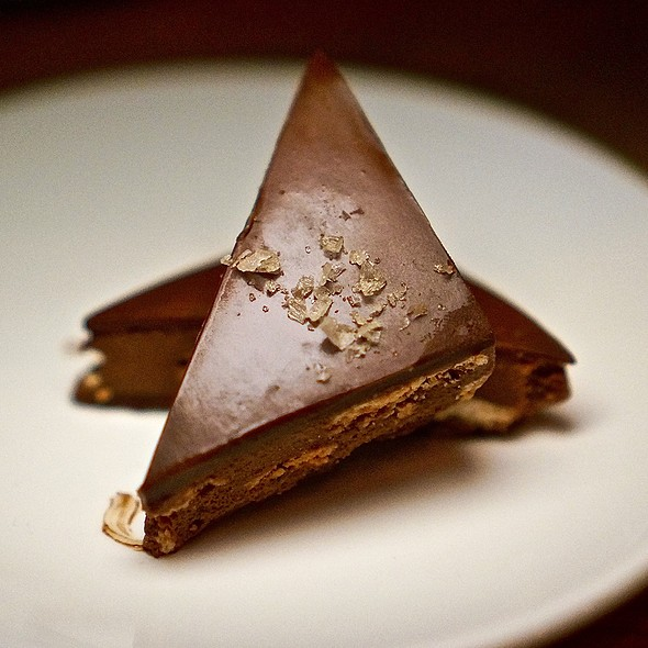 Milk chocolate crunch, peanut butter, smoked salt @ Boiler Nine Bar & Grill