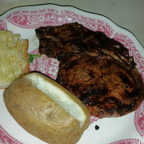 Rib Eye Steak  @ Hitching Post II